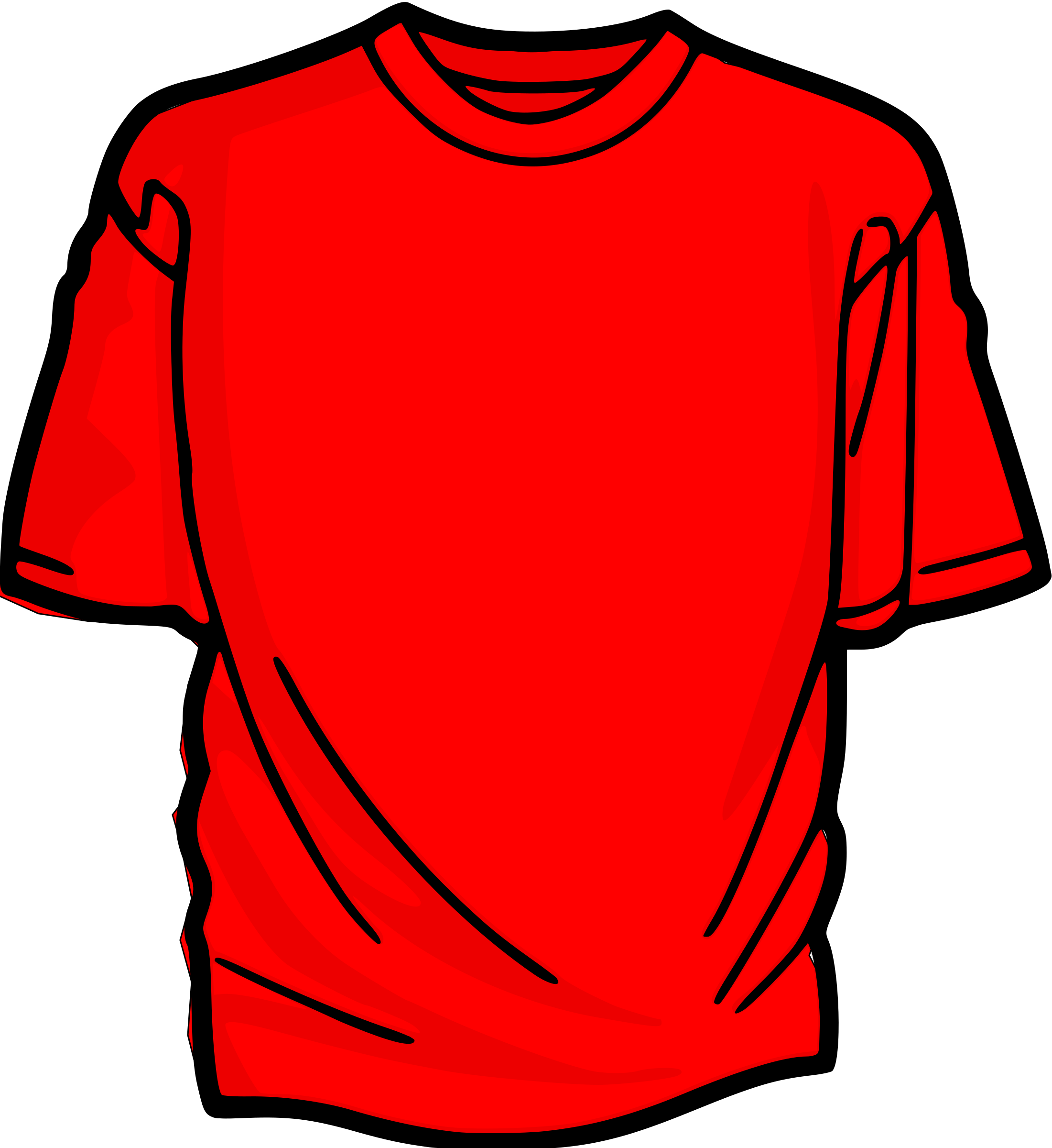 Shirts clipart animated.