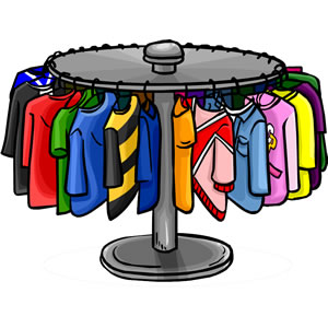 Animated clothes clipart.