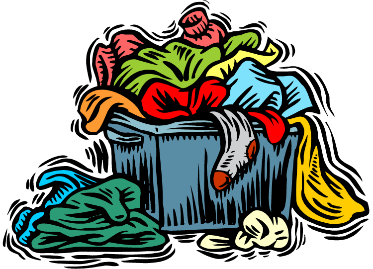 Clothing clipart pile.