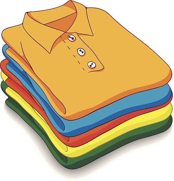 Clothes pile clipart.
