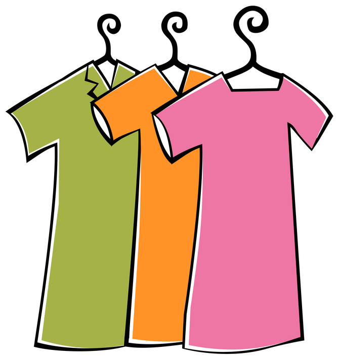 Lost and found clipart used clothes. Shirt folded vector clip