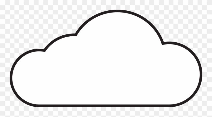 Clip art cloud.