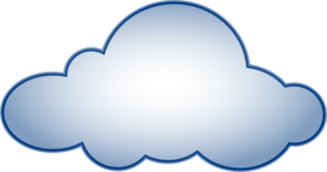 Cartoon cloud clipart.