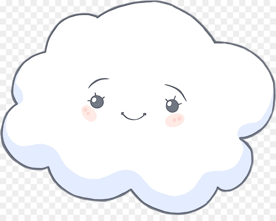 Cartoon cloud.