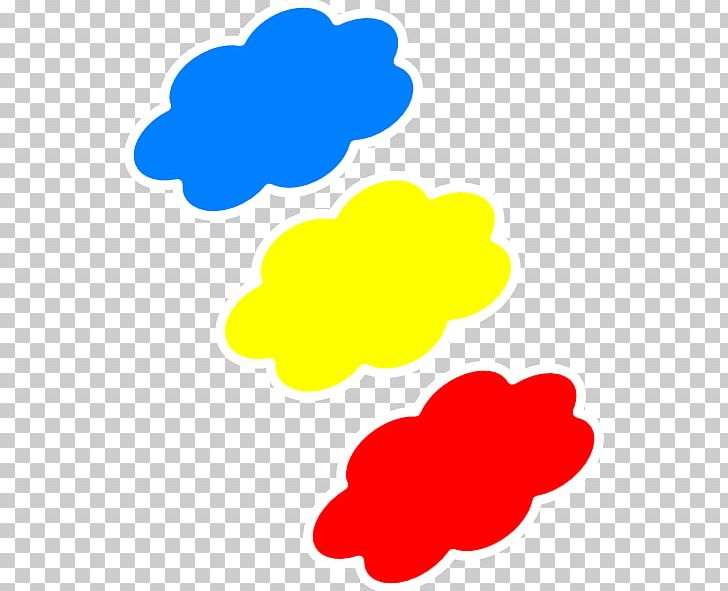 Cloud color drawing.