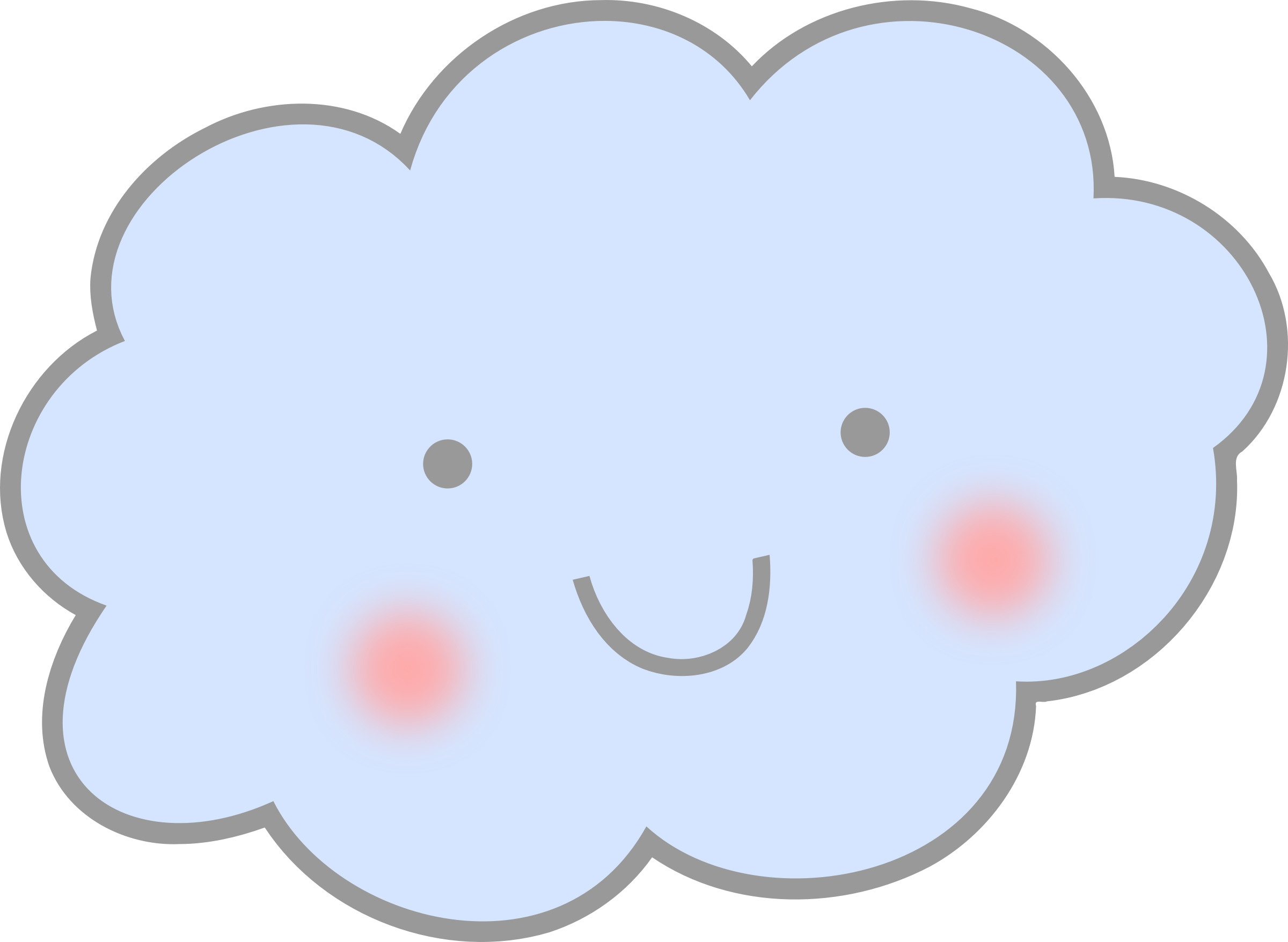 Cloud clipart cute.