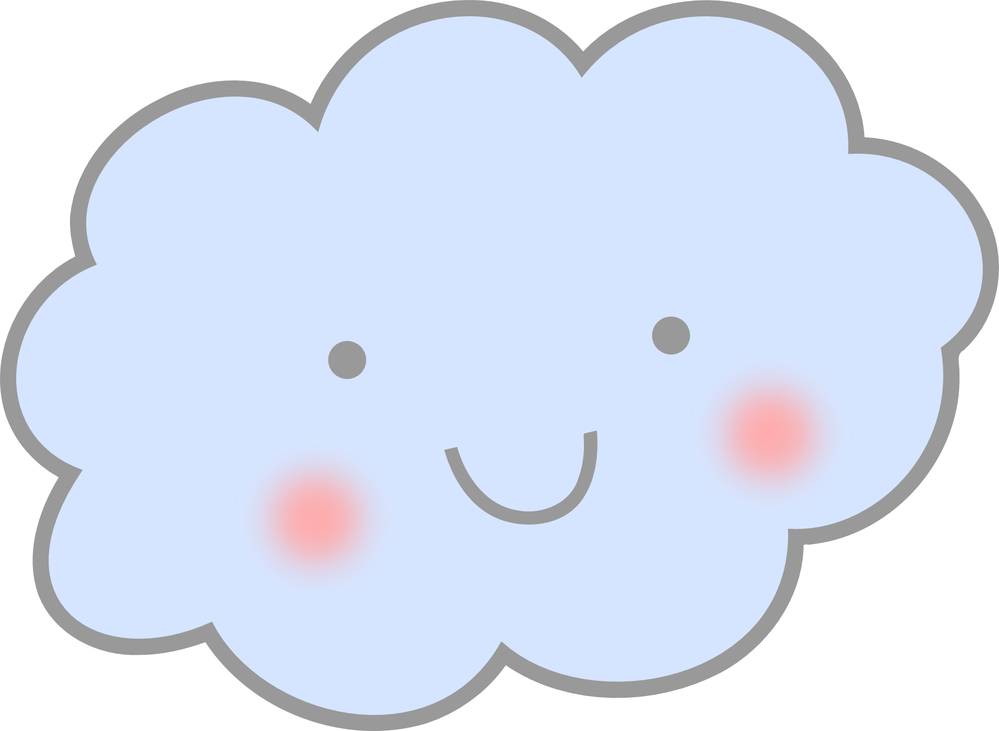Free cute cloud.