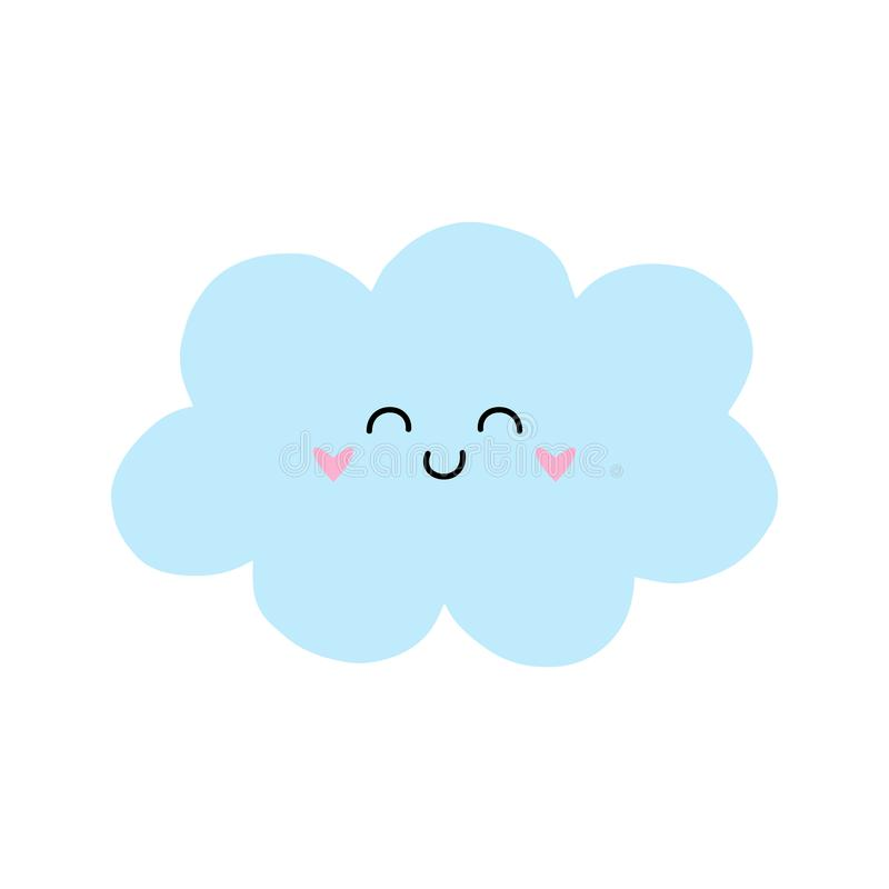 Cute cloud clipart.