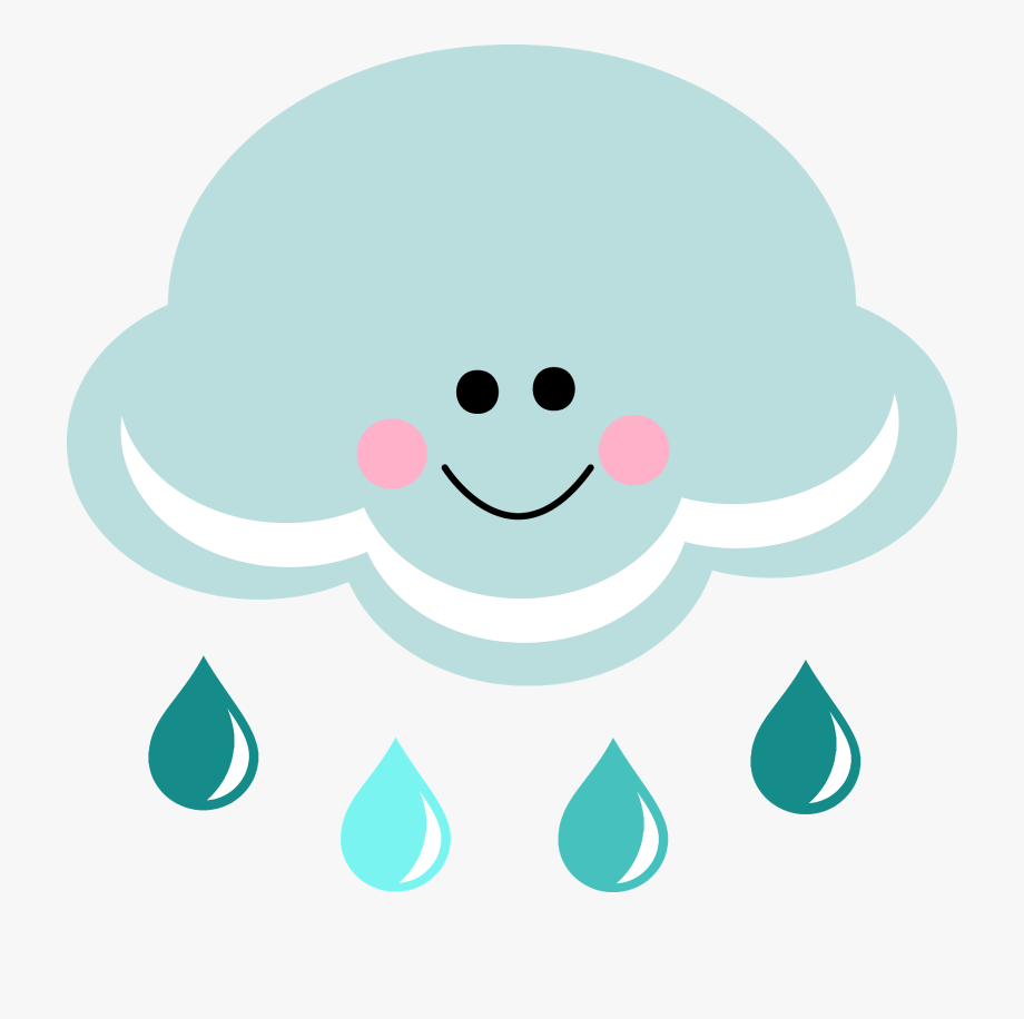 Happy rain cloud.