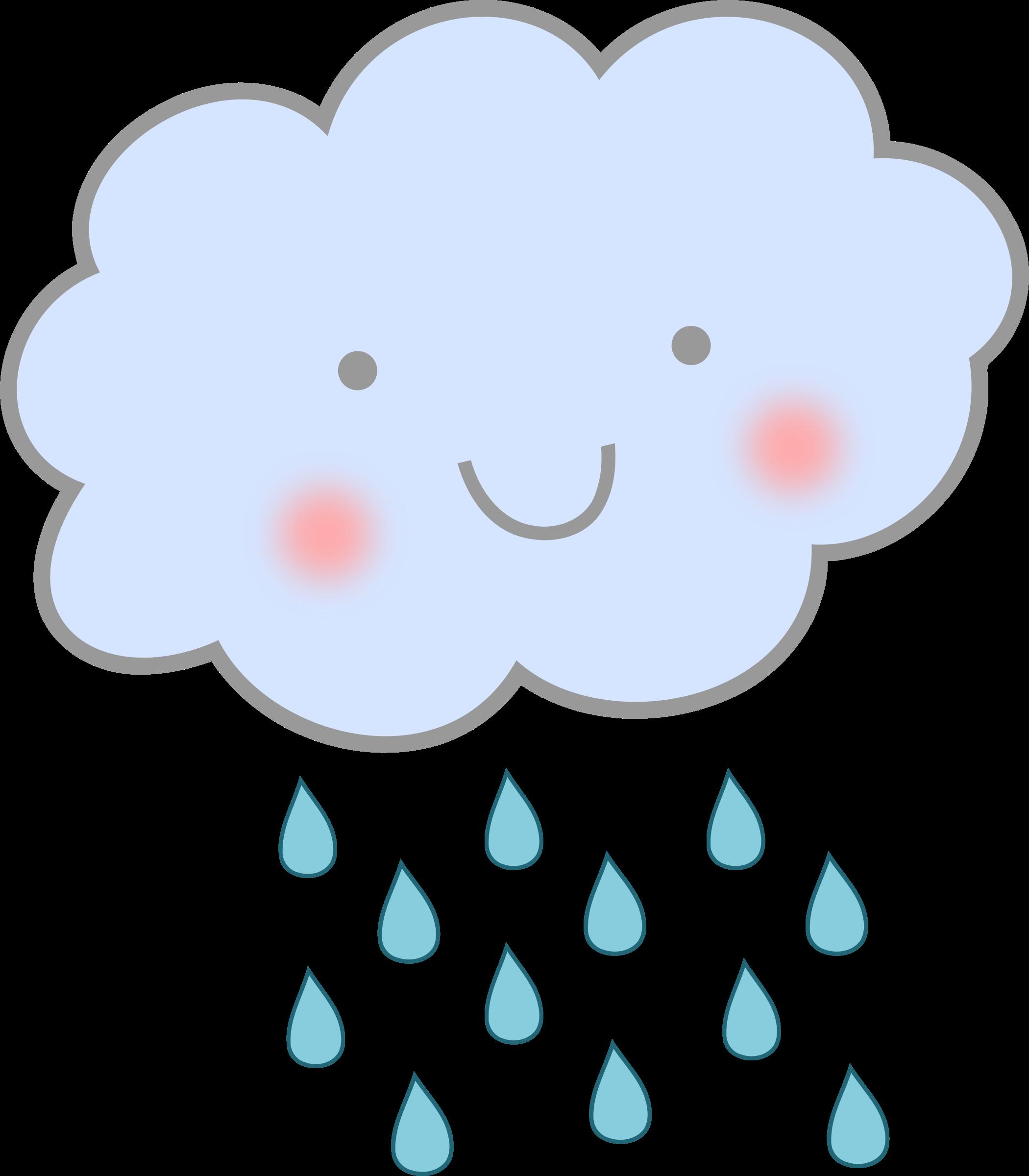 Clipart cute rain.
