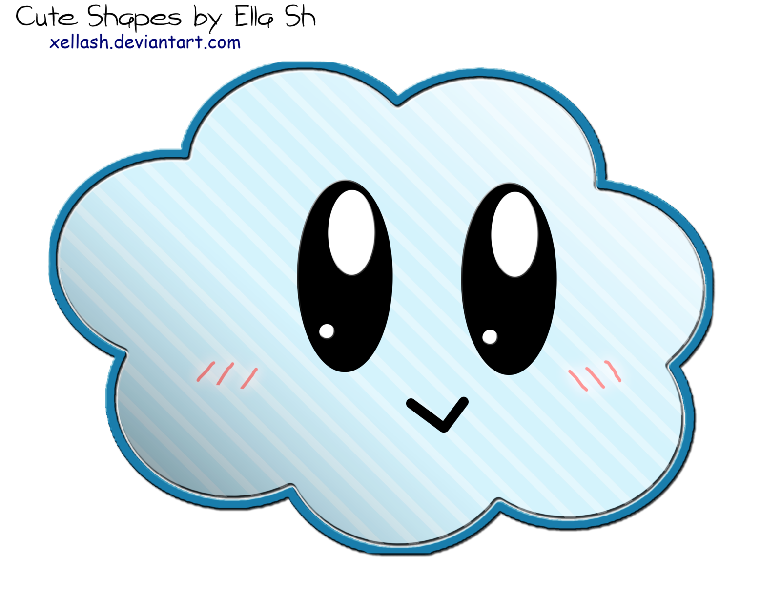 Clipart clouds cute.