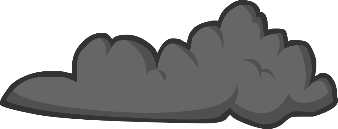 Cloudy clipart gray.