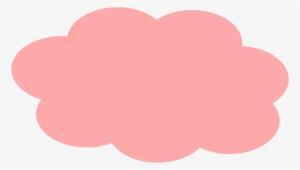 Pink cloud png.