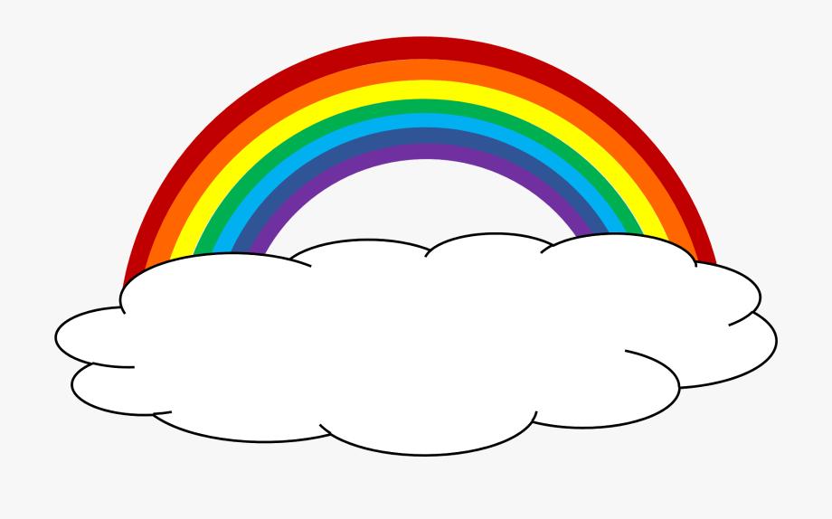 Color clipart cloud.