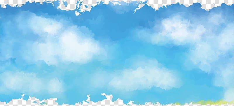 Sky euclidean cartoon.