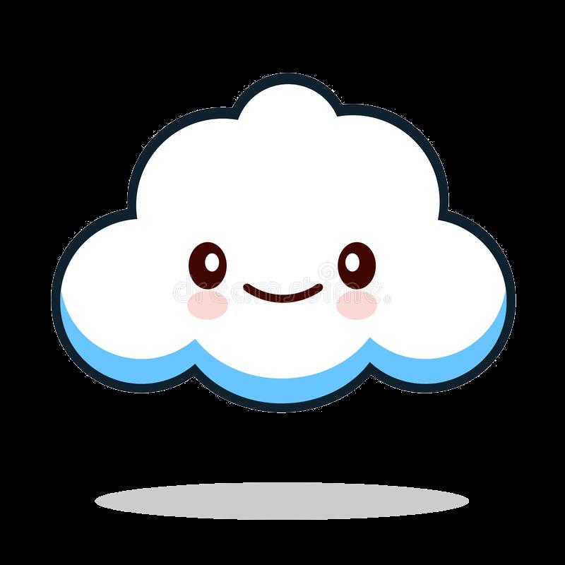Cloud cute clipart.