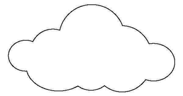 Large cloud pattern.