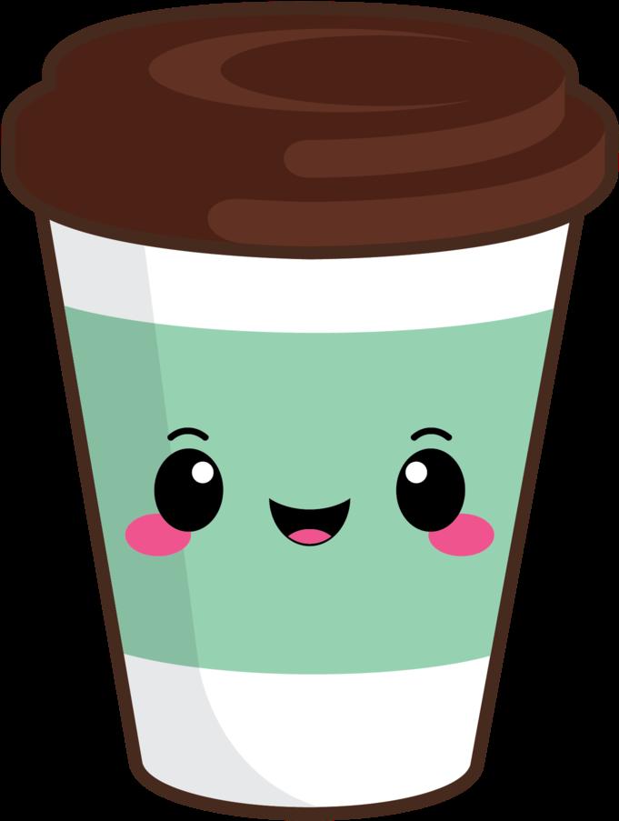 Cute coffee cup.