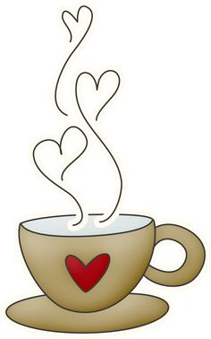 Free coffee heart.