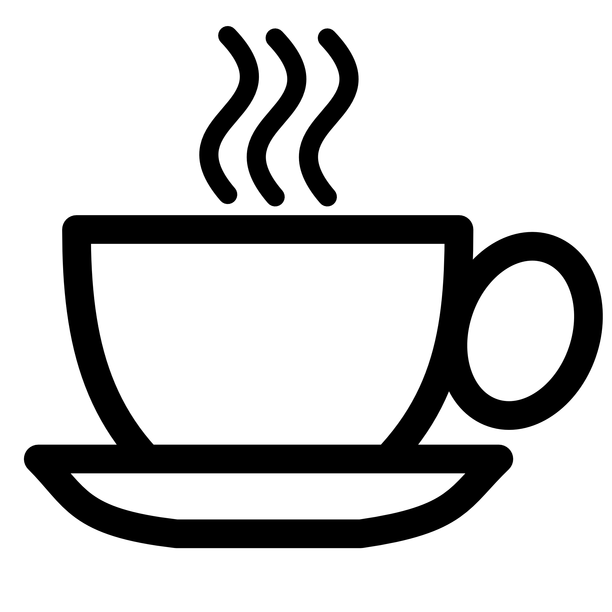 Simple coffee cup.