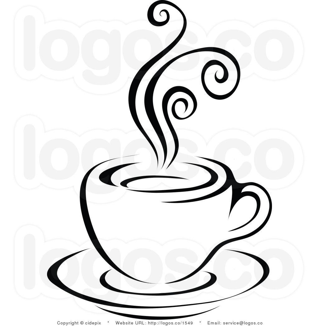 Coffee clipart black.