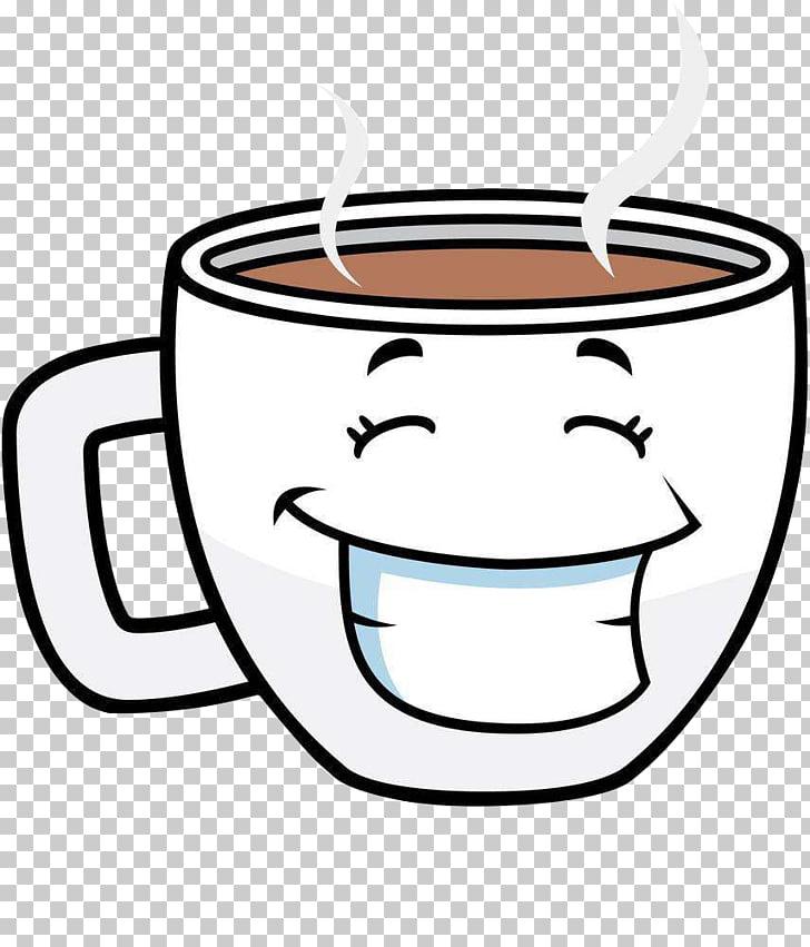 Coffee cup Tea Cafe Cartoon, Coffee Mug, coffee mug PNG