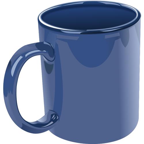 Vector clip art of photorealistic ceramic mug