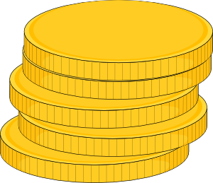Free coin cliparts.