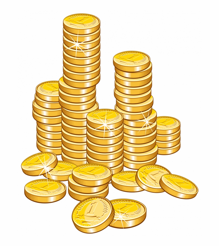 Money stack png.