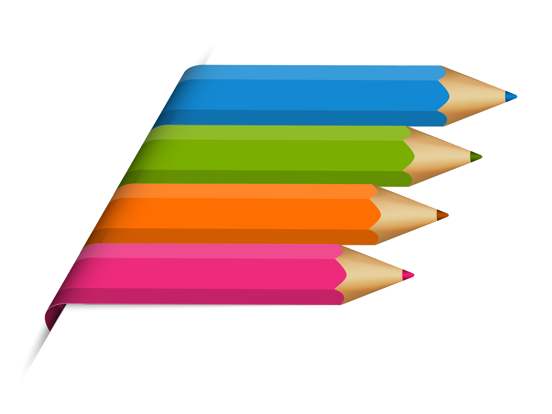 Pencil crayon animation.