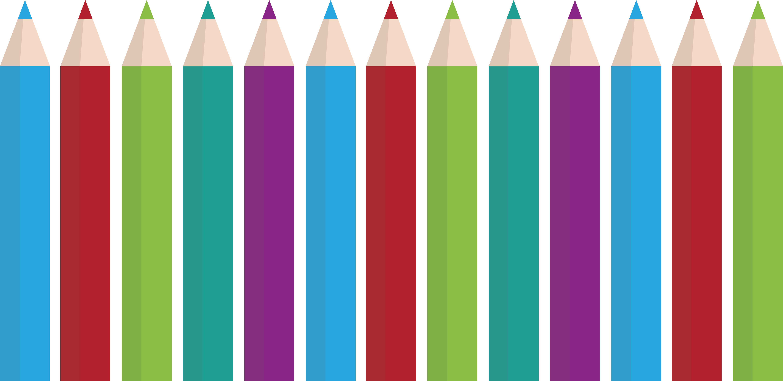Crayon colored pencil.