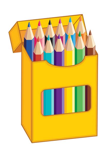 Color pencil clipart.