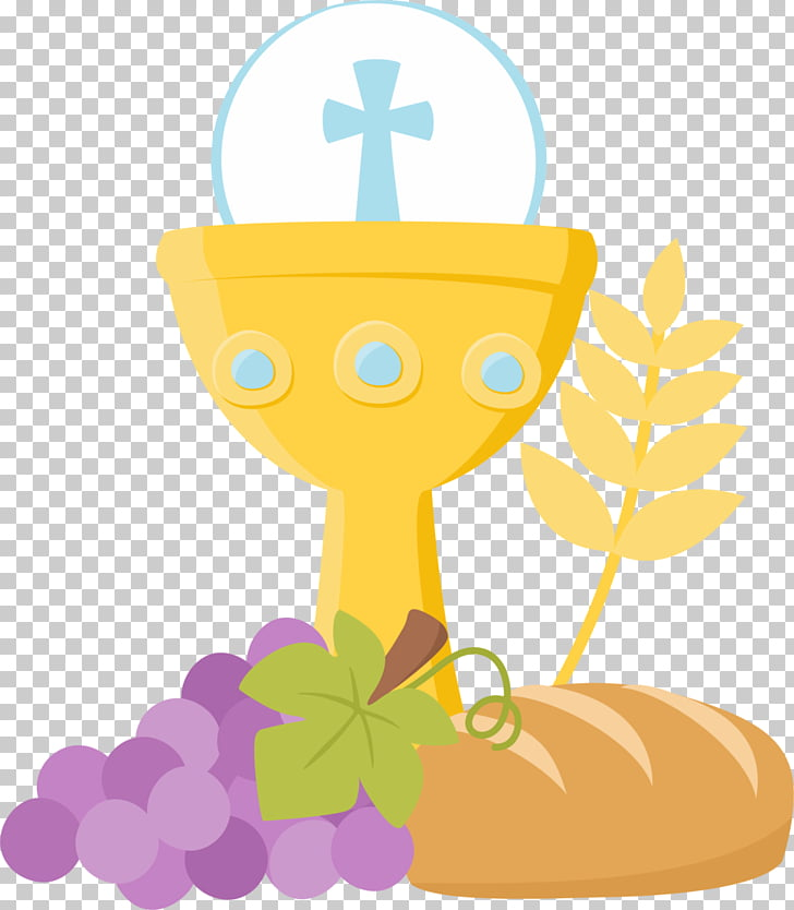 Communion clipart holy. First eucharist baptism grape