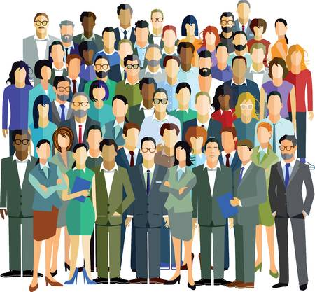 People in the community clipart