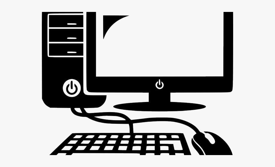 Computer clipart desktop.