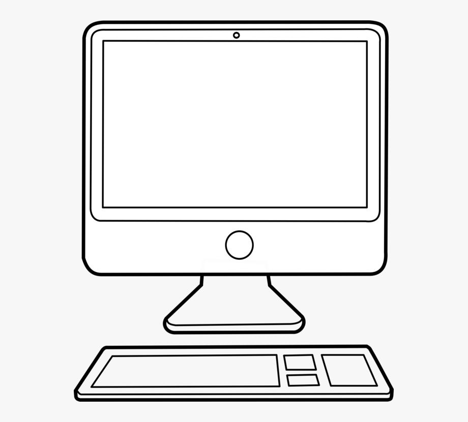 Computer monitors computer.