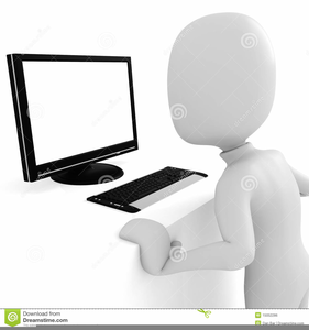 Clipart man working.
