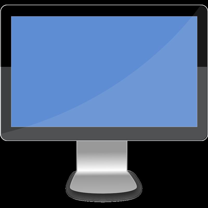 Clipart modern desktop.