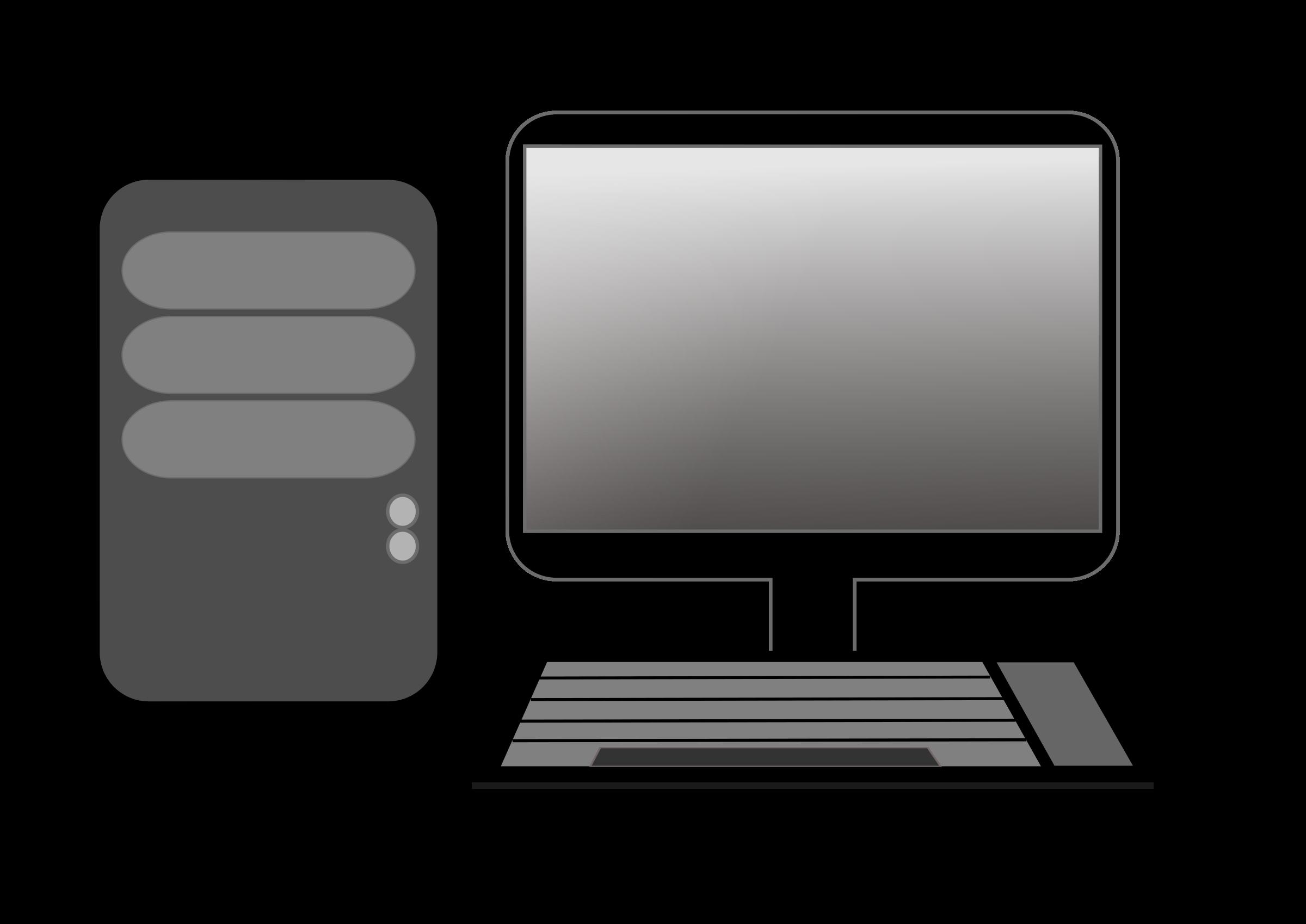 Laptop desktop computers.