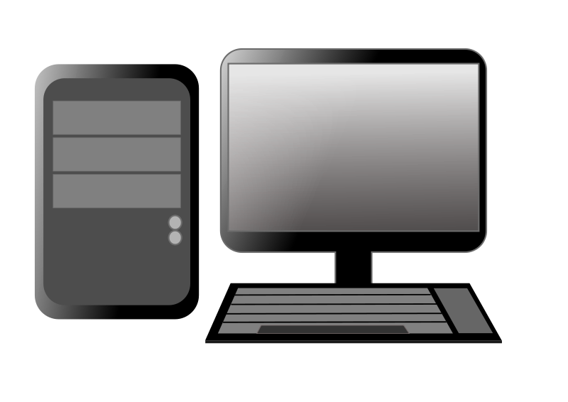 Clipart computer computer.