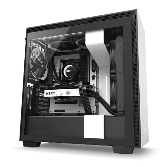 Nzxt gaming hardware.