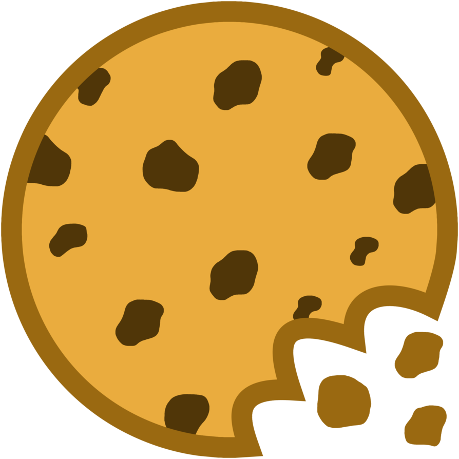 Cookie clipart bitten.