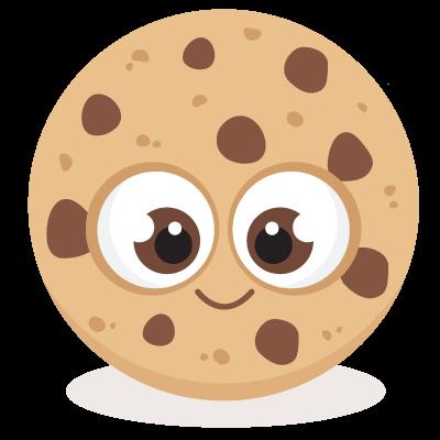 Bitten chocolate chip.