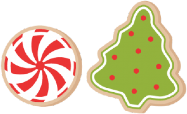 Snowflake clipart cookie.