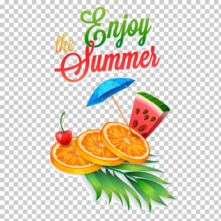 Juice Cocktail Summer fruit, a cool summer, The Enjoy Summer