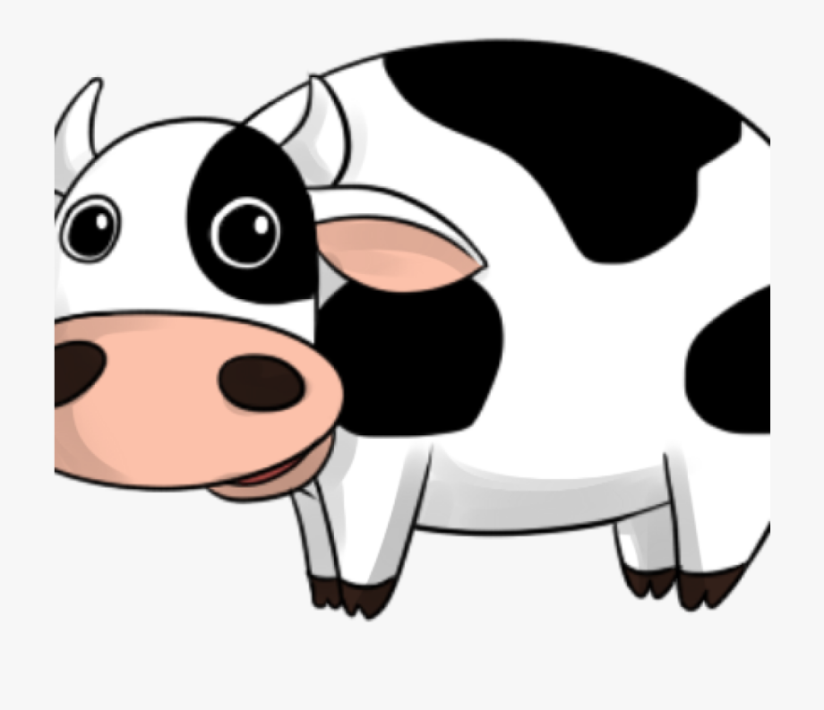 Funny cow clipart.