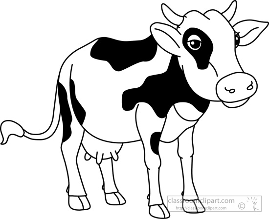 Free Black Cow Cliparts, Download Free Clip Art, Free Clip