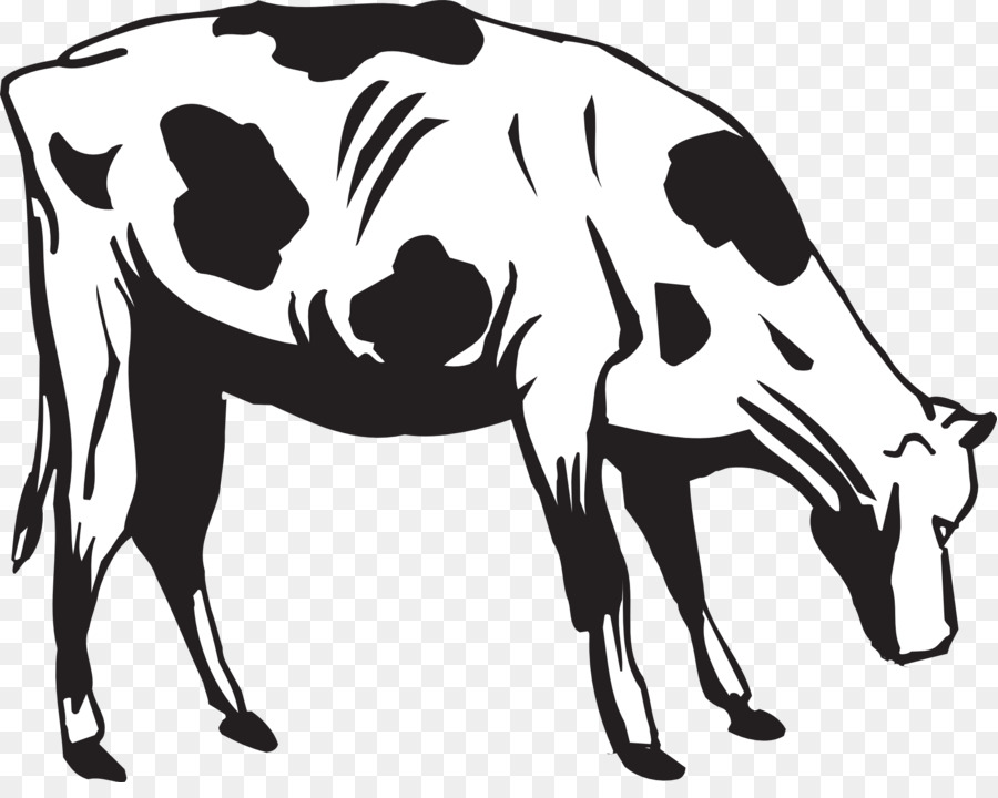Cow cartoon clipart.