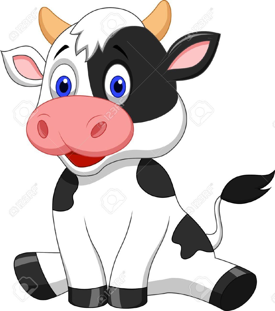 Stock vector cow.
