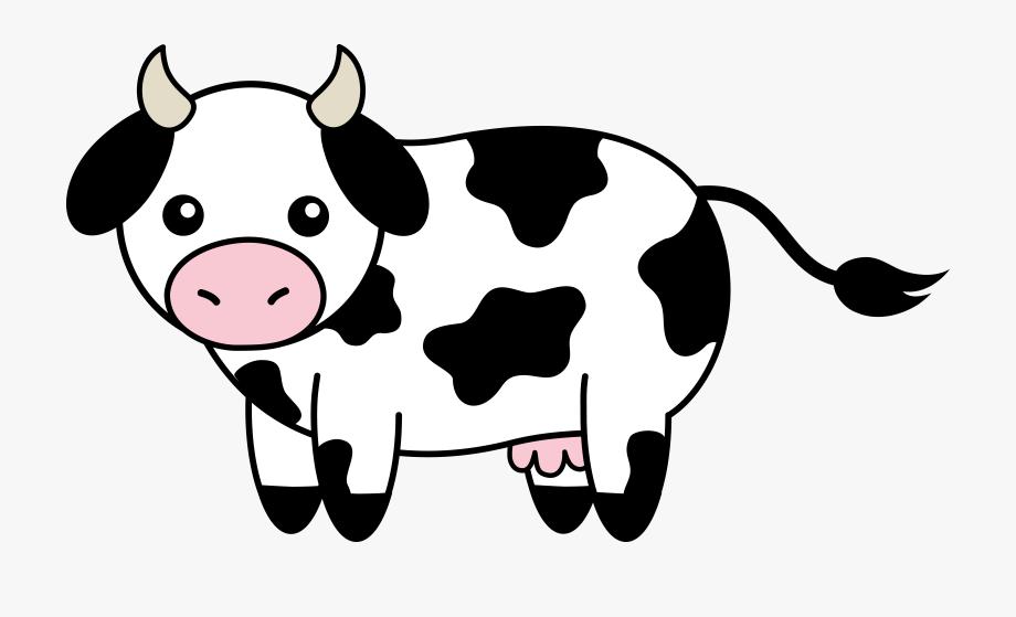 Cow head clipart.